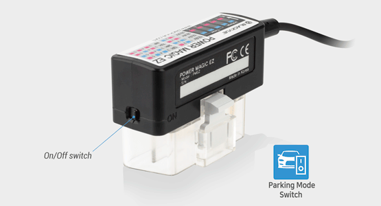 blackvue power magic ez parking mode switch 1 - Power Magic EZ