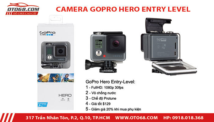 CAMERA GOPRO HERO ENTRY LEVEL